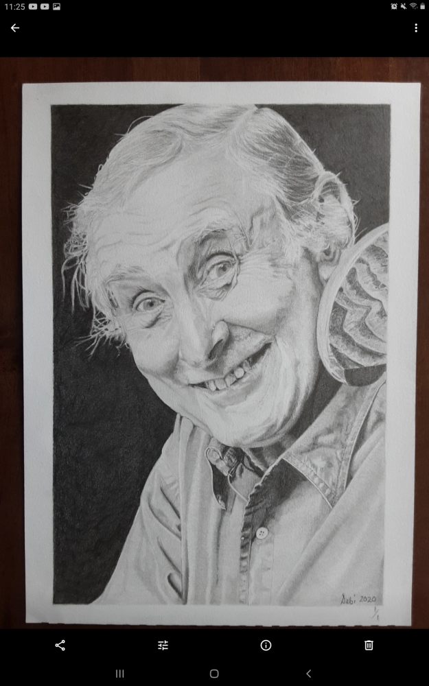 Spike Milligan by Debijw